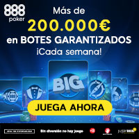 Bote 888 Poker 200.000€ semanales