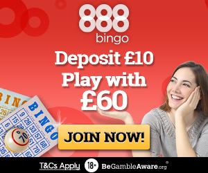 888 Bingo 50 free